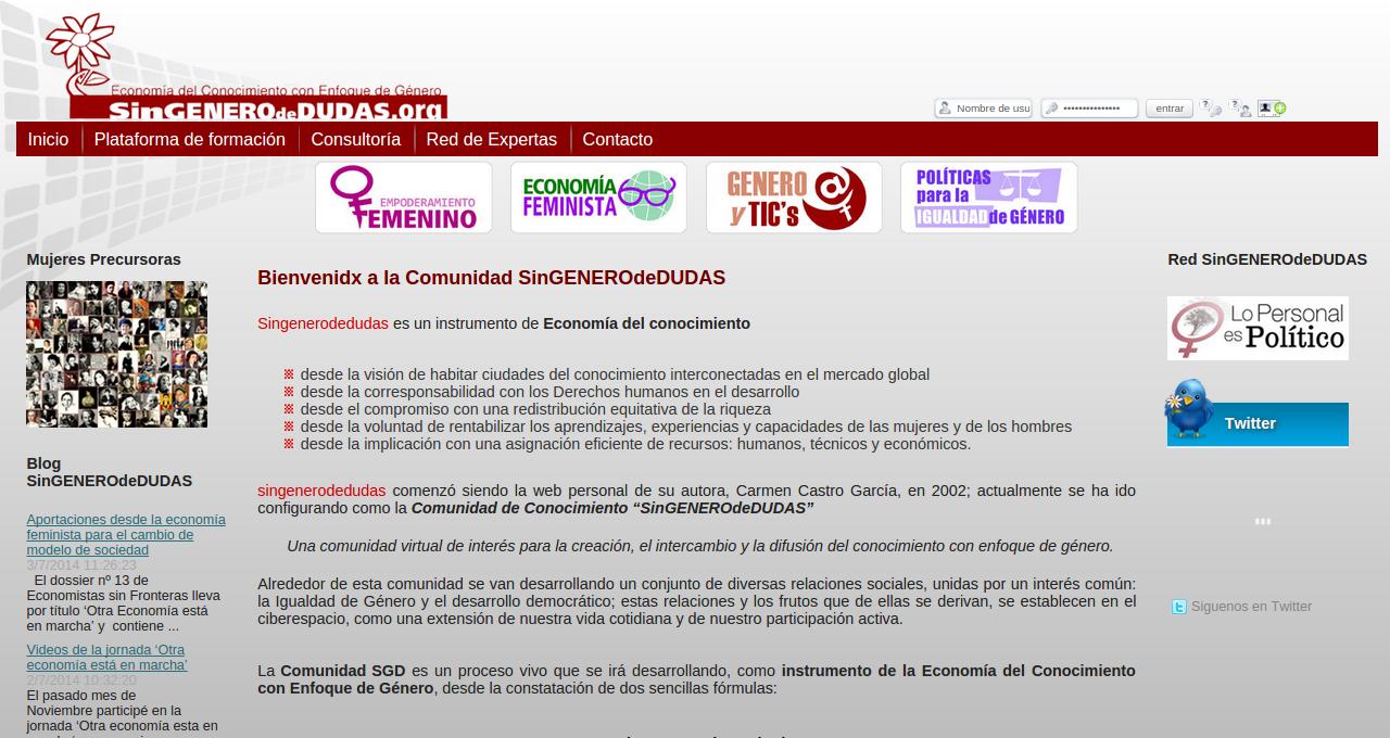 SinGENEROdeDUDAS.org